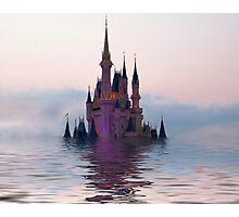 Sinking Castle Photographic Print