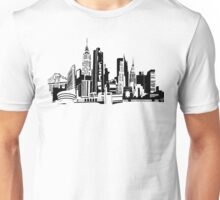 NYC Landmarks by Tai's Tees Unisex T-Shirt