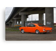 Orange Holden HG Monaro Canvas Print