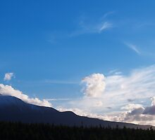 Ruapehu Clouds by Vince Lovrich