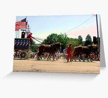 Parade Greeting Card