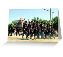 The Foot Soldier Greeting Card