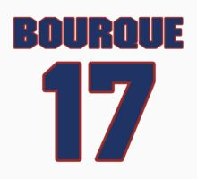 National Hockey player Rene Bourque jersey 17 by imsport