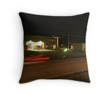 KCFD Night Photo Throw Pillow
