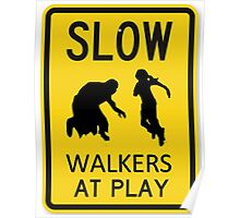 Zombies / Walkers At Play Poster