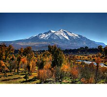 Mt Sopris Photographic Print