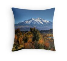 Mt Sopris Throw Pillow