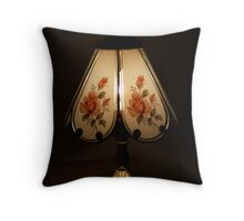 Touch Lamp Throw Pillow