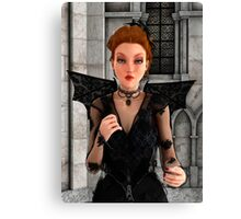 Beautiful Witch Canvas Print