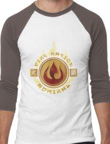 Fire Nation Admiral Men's Baseball ¾ T-Shirt