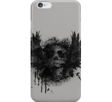 Screaming for grunge - distorted iPhone Case/Skin