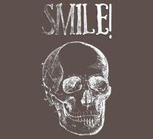 Smile! - White Baby Tee