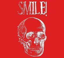 Smile! - White Kids Tee