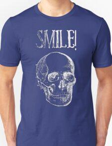 Smile! - White Unisex T-Shirt