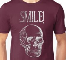 Smile! - White Unisex T-Shirt