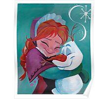 Frozen HUGS Poster