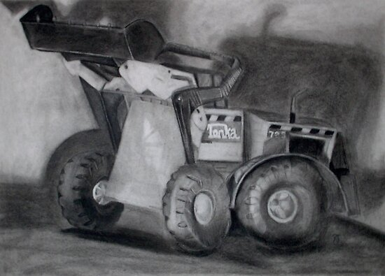 Tonka Truck by Rayven Collins
