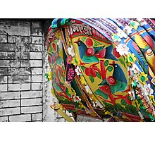 Rickshaw Art Photographic Print