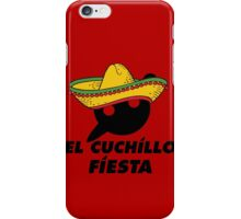 El Cuchillo Fiesta Knife Party iPhone Case/Skin