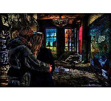 Contemplando Graffity Photographic Print
