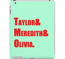 the swifts iPad Case/Skin
