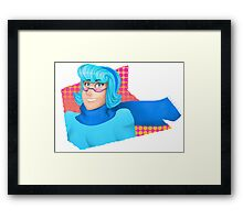 Mystery Skulls Ghost Animated Vivi Framed Print