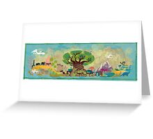 Animal Kingdom Greeting Card