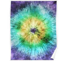 Colorful Tie Dye Graphic Poster