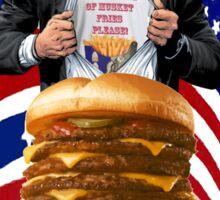 Gettysburger Sticker
