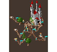 Settlers 1 - Retro pixel art DOS game fan shirt Photographic Print