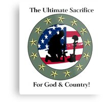 God & Coundtry Metal Print