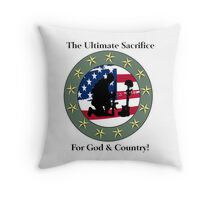 God & Coundtry Throw Pillow
