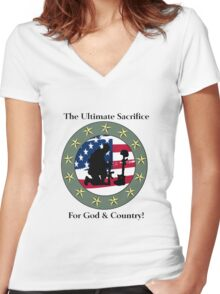 God & Coundtry Women's Fitted V-Neck T-Shirt