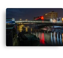 Scale Lane Bridge Canvas Print