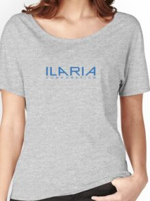 Helix - Ilaria Corporation - Blue Women's Relaxed Fit T-Shirt