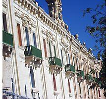 Green balconies Photographic Print