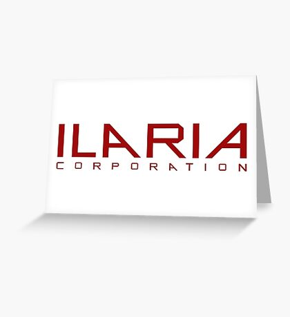 Helix - Ilaria Corporation - Red Greeting Card