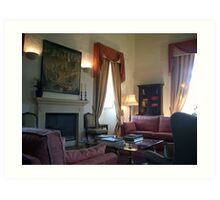 The palace room Art Print
