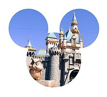 Disneyland Castle Mickey by hilarydewitt
