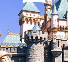 Disneyland Castle Mickey Sticker