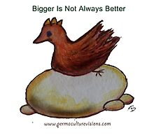 Bigger Is Not Always Better by AprilSKelly