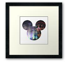 World of Color Mickey Framed Print