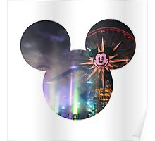 World of Color Mickey Poster