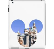 Disneyland Castle Mickey iPad Case/Skin