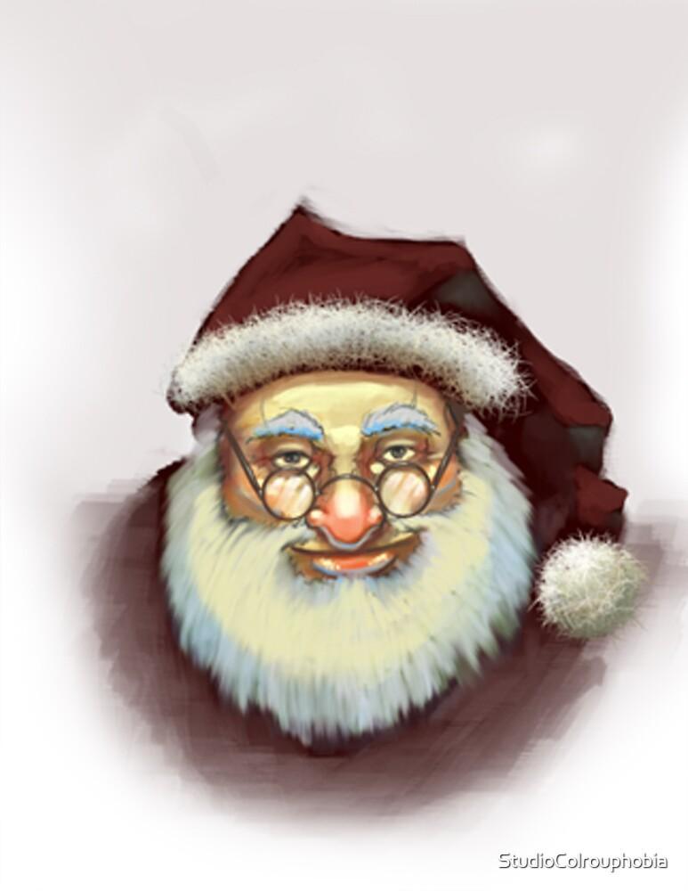 Run-of-the-mill-Santa by StudioColrouphobia