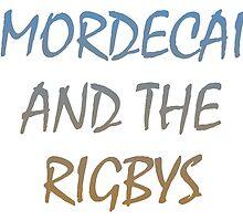 Regular Show. Mordecai and The Rigbys by Chris-Kobra-LA