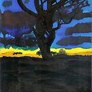 Katoomba Tree by Martin Derksema