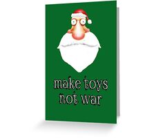 make toys Greeting Card