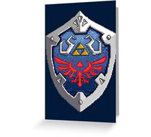 Hylian Shield Greeting Card