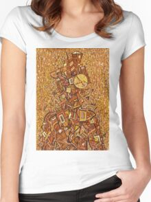 """Wise Man 1"" Women's Fitted Scoop T-Shirt"
